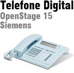 Telefone digital OpenStage 15 Siemens