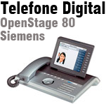 Aparelho Digital OpenStage 80 Siemens